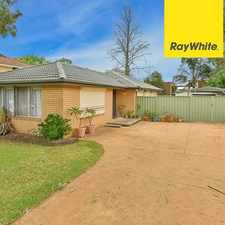 Rental info for Newly painted, available now! in the Ingleburn area