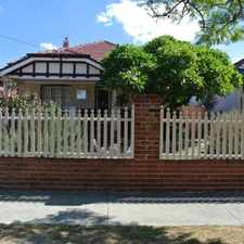 Rental info for BEAUTIFUL CHARACTER-Home Open Saturday 16 September 1.15-1.30pm in the Mount Hawthorn area