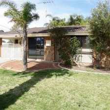 Rental info for Halls Head Location in the Perth area