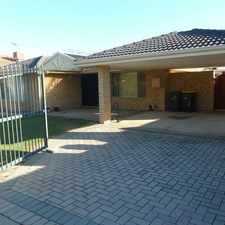 Rental info for 4X2 with Pool!!! in the Currambine area