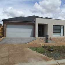 Rental info for NEAR NEW 4 BEDROOM HOUSE IN MELTON SOUTH