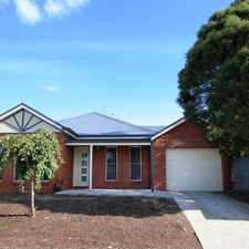 Rental info for Modern Townhouse In Central Location in the Ballarat area