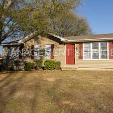 Rental info for 821 Willow Bend Lane
