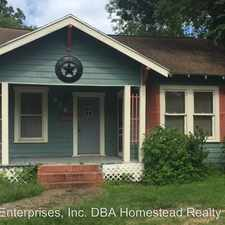 Rental info for 916 West Lucas in the 77706 area