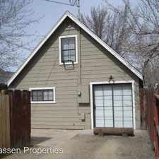 Rental info for 1504 1/2 North Street in the Susanville area