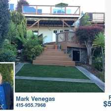 Rental info for 231 Bella Vista Way in the Miraloma Park area