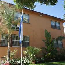 Rental info for 9128 National Blvd. APT 05 in the Palms area