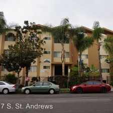 Rental info for 817 S. St. Andrews APT 105 in the Los Angeles area