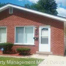 Rental info for 7403 Evergreen Ave in the Dearborn area