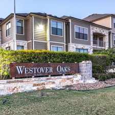 Rental info for Westover Oaks in the San Antonio area