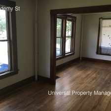 Rental info for 3 Academy St in the Rochester area