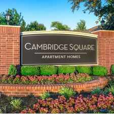 Rental info for Cambridge Square in the Leawood area