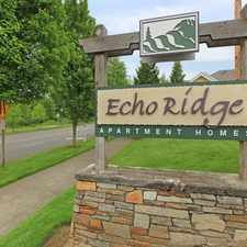 Rental info for Echo Ridge