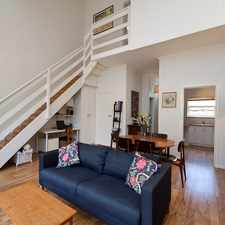 Rental info for BEAUTIFUL, LIGHT FILLED, SPACIOUS TOWNHOUSE