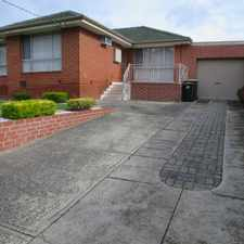 Rental info for SPACIOUS AND WELL MAINTAINED HOME in the Dandenong North area