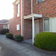 Rental info for Exceptionally Sized Townhouse in a Fantastic Location! in the Melbourne area