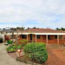 Rental info for GREAT SIZED FAMILY HOME in the Perth area