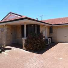 Rental info for HOUSE SIZED VILLA IN QUIET BLOCK! in the Nollamara area
