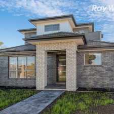 Rental info for BRAND NEW TOWNHOUSE IN UNBEATABLE LOCATION! in the Melbourne area