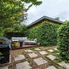 Rental info for Gated Complex, Two Blocks North Of Lady Bird La... in the Govalle area