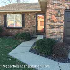 Rental info for 3805 Cinnamon Trail in the Evansville area