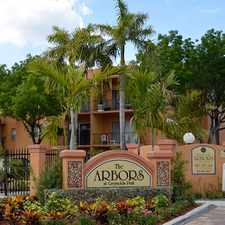 Rental info for The Arbors at Greynolds Park in the North Miami Beach area
