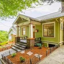 Rental info for Gorgeous 1918 Craftsman Home in Coveted Capitol Hill in the Madison Valley area