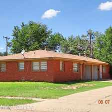 Rental info for 2316 62nd Street - B in the Lubbock area