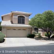 Rental info for 1130 W. Goldfinch Way in the Clemente Ranch area