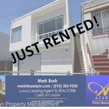 Rental info for 120 Schwerin Street in the McLaren Park area