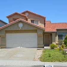 Rental info for 2259 Oak Hills Drive in the Bay Point area
