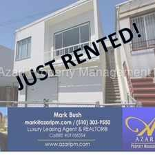 Rental info for AZARI PM - Newly Renovated 2b/1ba 2-car Garage and large backyard - Visitacion Valley in the McLaren Park area