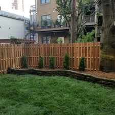 Rental info for 2 Bed Plus den with huge private yard located in highly desirable Paulus Hook section of downtown Jersey City.