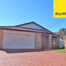 Rental info for QUALITY FAMILY HOME WITH SOLAR & AIR CON