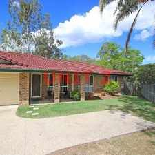 Rental info for Private Three Bedroom Home With Even Bigger Yard in the Brisbane area
