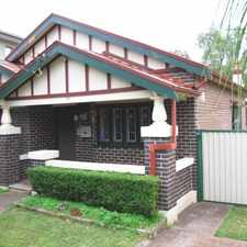Rental info for Impressive Character - Serene Garden in the Hurlstone Park area