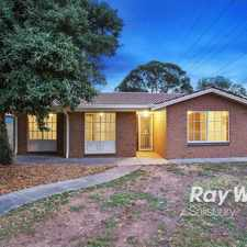 Rental info for Beautiful Family Home!! in the Parafield Gardens area