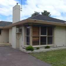 Rental info for DELIGHTFUL FAMILY HOME! in the Melbourne area