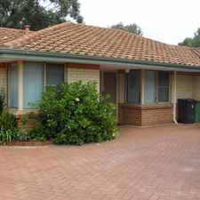 Rental info for RENT REDUCED - BE QUICK in the Perth area