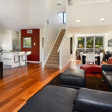 Rental info for INNER CITY LIVING - TRI LEVEL STYLISH CONTEMPORARY