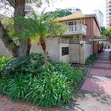 Rental info for 3x2 Part-furhished apartment in Prestige Kings Park Precinct in the Crawley area