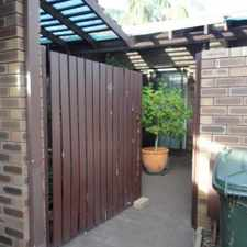 Rental info for Secure Villa - Close to Freeway and South Perth Foreshore in the Como area