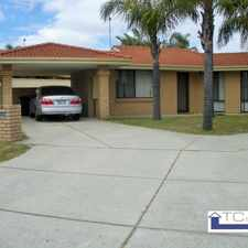 Rental info for A great place to live in the Perth area