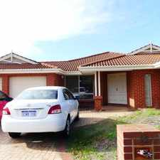 Rental info for 2 LARGE FURNISHED ROOMS FOR RENT -INCLUDE BILLS in the Perth area
