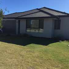 Rental info for 4x2 home across from park in the Perth area