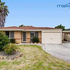 Rental info for Family home close to amenities!!!