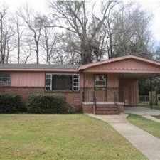 Rental info for BRICK AND WOOD RANCH IN CONVENIENT LOCATION; HARDWOOD FLOORS; SEPARATE EATING AREA; BRICK PLANTERS IN LIVING ROOM; BRICK FIREPIT AND PARTIALLY FENCED; ATTACHED SINGLE CARPORT. Call or come by Keith Realty at 13 S. Florida St.