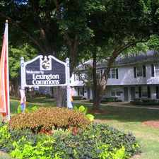 Rental info for Lexington Commons