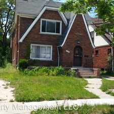 Rental info for 17193 Roselawn Street in the Bagley area
