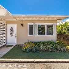 Rental info for 165 Ulupa St in the Kailua area